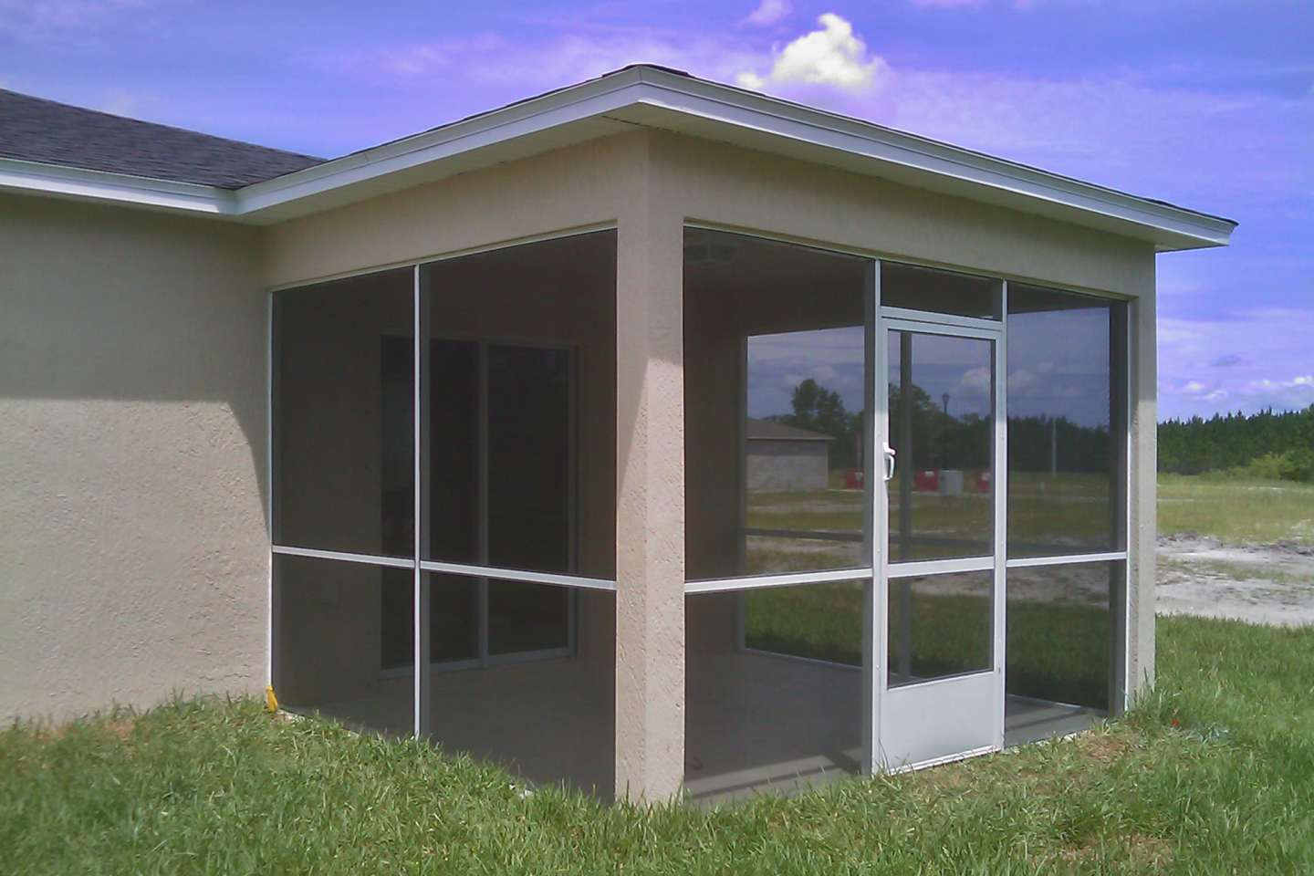 Aluminum Screened In Porch