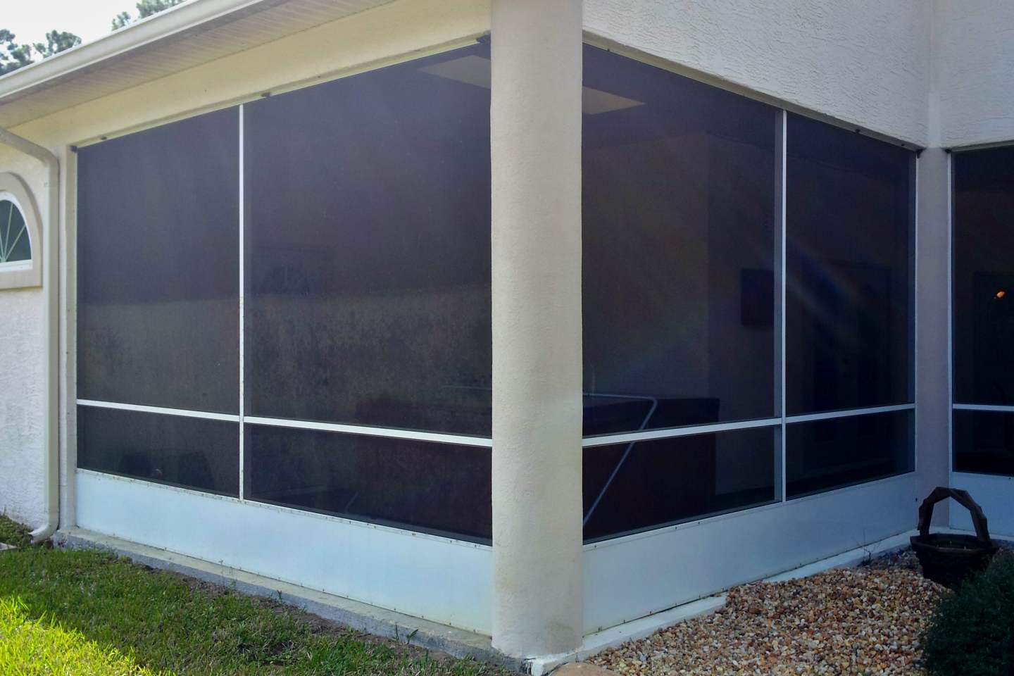 I Do That Screen Repair Barrister Ln Palm Coast Florida Glass Privacy Screen