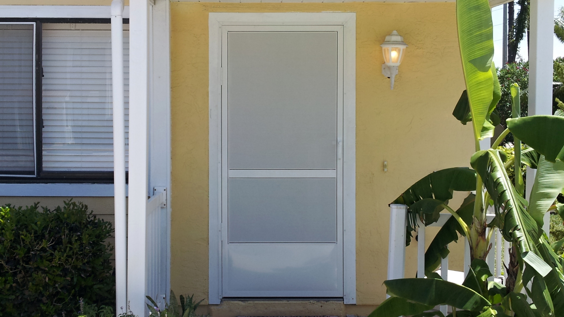 I Do That Screen Repair Reed Canal Rd Screen Door W White