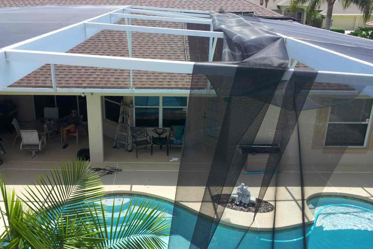 I Do That Screen Repair Cypress Head Port Orange Pool