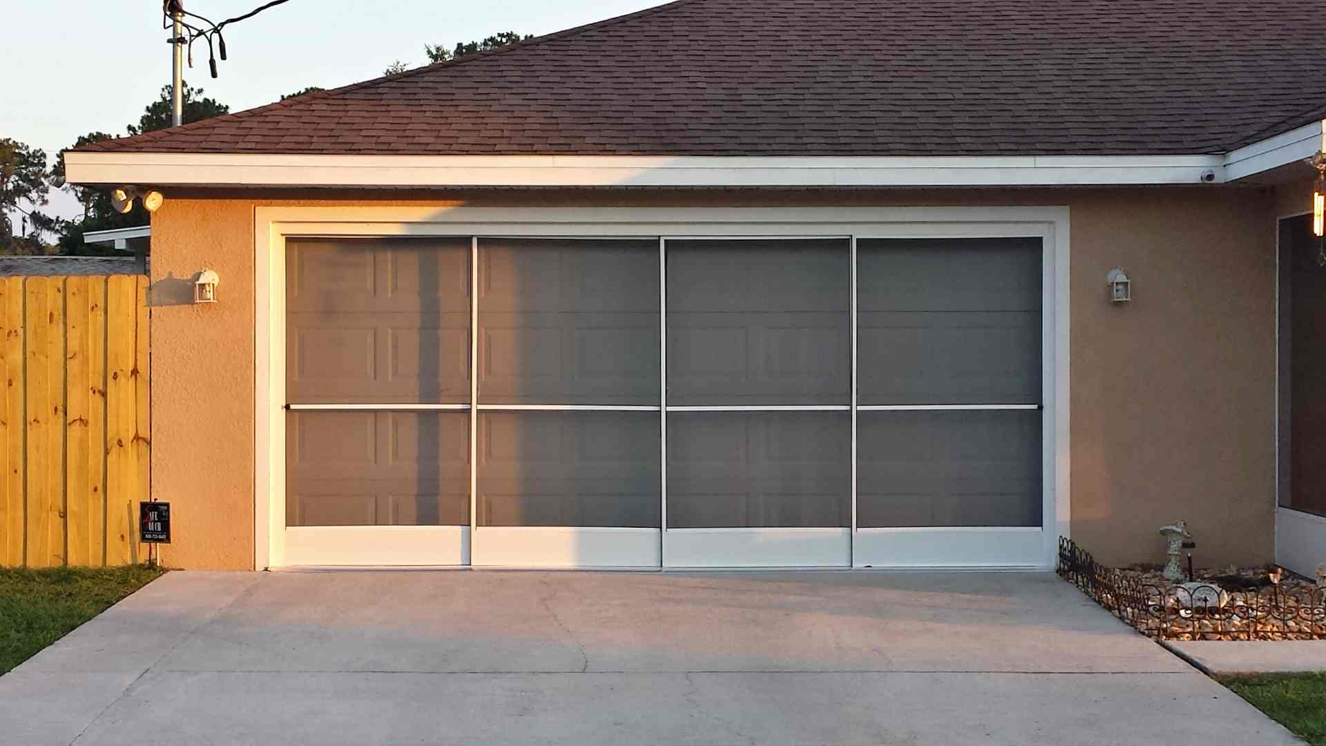 1080 #A96922 We Install And Service All Sliding Garage Screen Doors In pic Installed Garage Doors 37211920