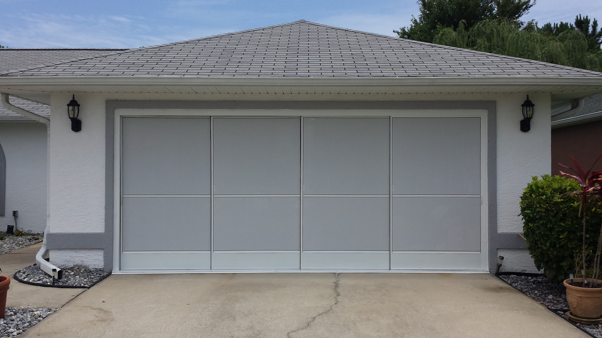 Garage Door Screens : I do that screen repair butterfield ln palm coast