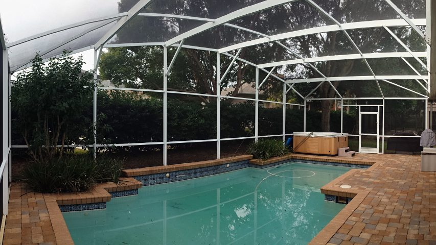 big tree ct orlando complete pool screen repair
